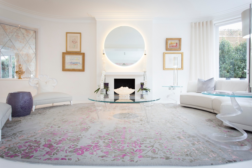 High quality rug in living room