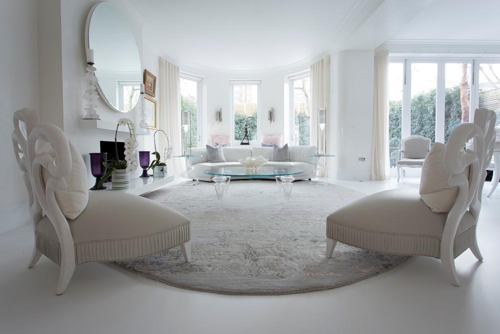 grey oval rug bespoke rug for living room