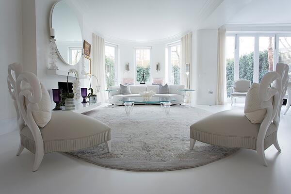 grey oval rug bespoke rug for living room